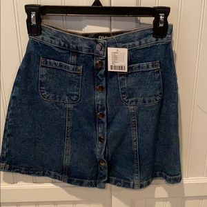NEW WITH TAGS! Urban Outfitters / BDG denim skirt